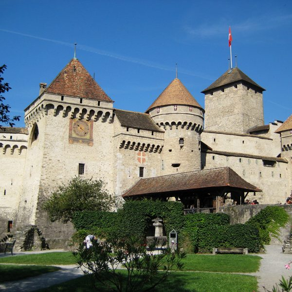 Chillon Castle in Montreux Vevey is a popular attraction for Tralala Hotel guests to visit