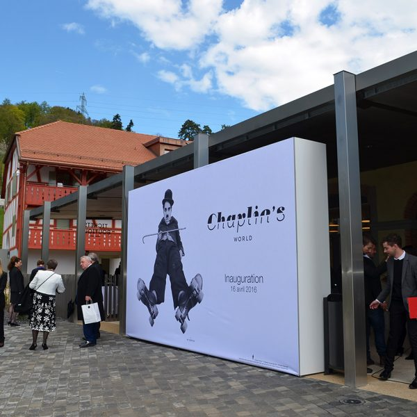 Exterior of Chaplin's World Museum in the Montreux Vevey region, 10km from Tralala Hotel Montreux