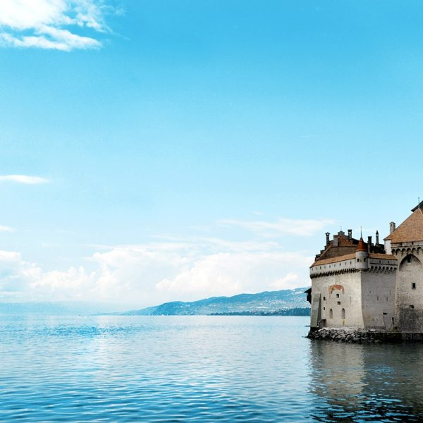 The Château de Chillon castle by Lake Geneva is a great place for Tralala Hotel guests to explore